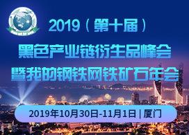 2019黑色产业链衍生品峰会暨我的钢铁网铁矿石年会