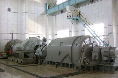 山东莱钢3#高炉trt发电机组并网发电