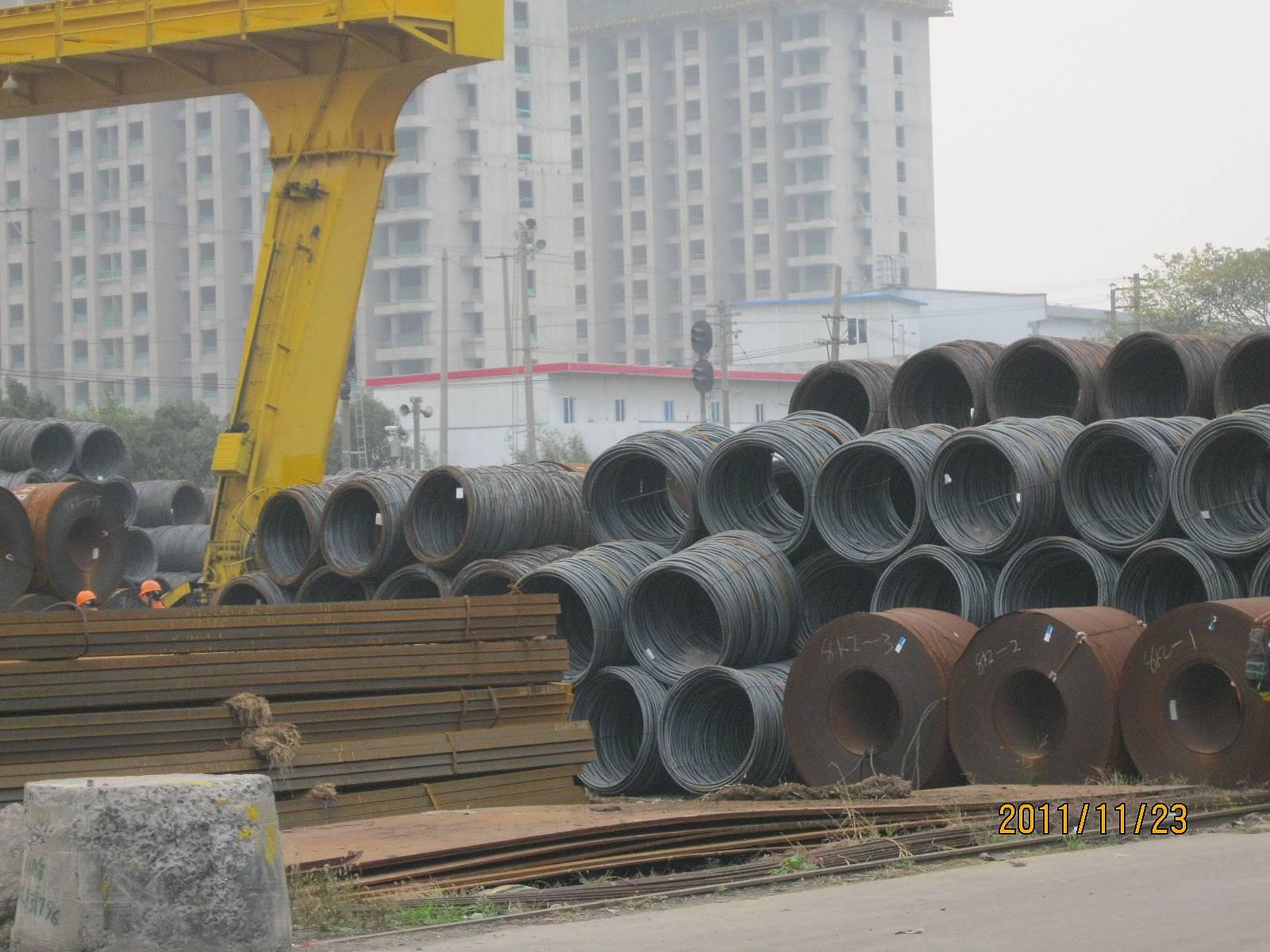 上海地区/A仓库:螺纹的量本周增加了,增加的量大概有1190吨左右。