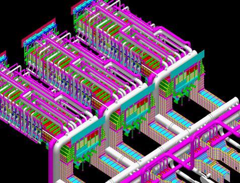 设计图 首钢/首钢京唐钢铁厂2250热轧工程加热炉三维设计图...